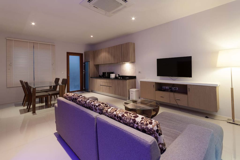 Open-Plan Living Area
