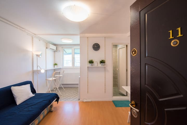 ★★★★★ White studio in the Financial District