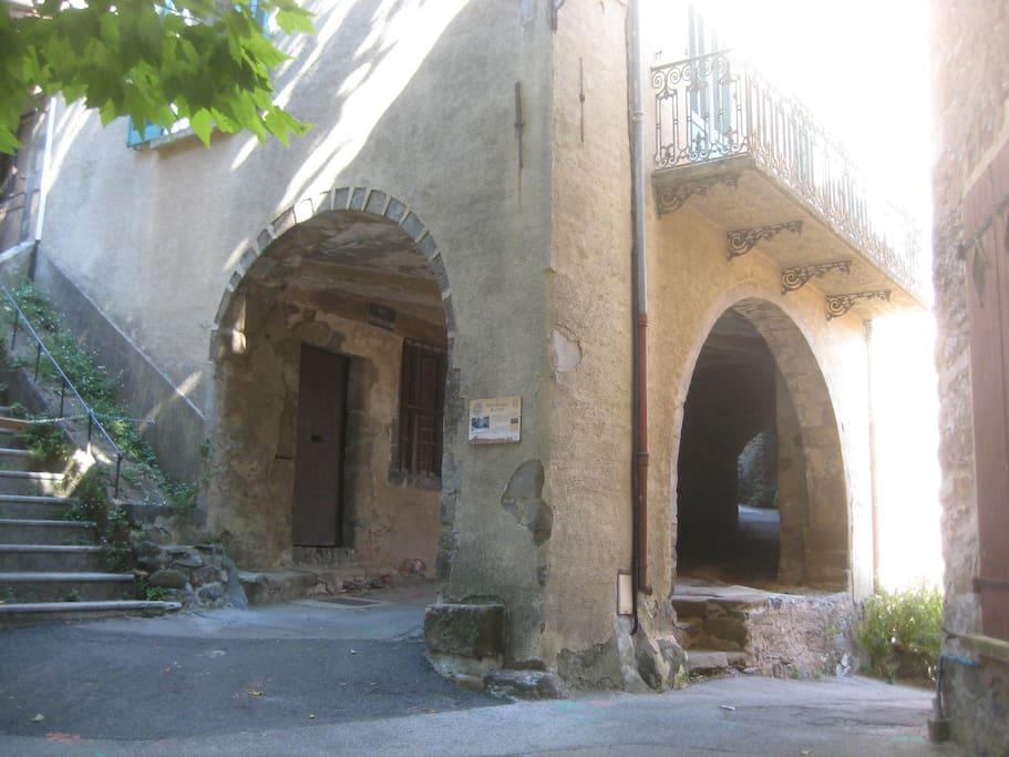 Arches de la maison