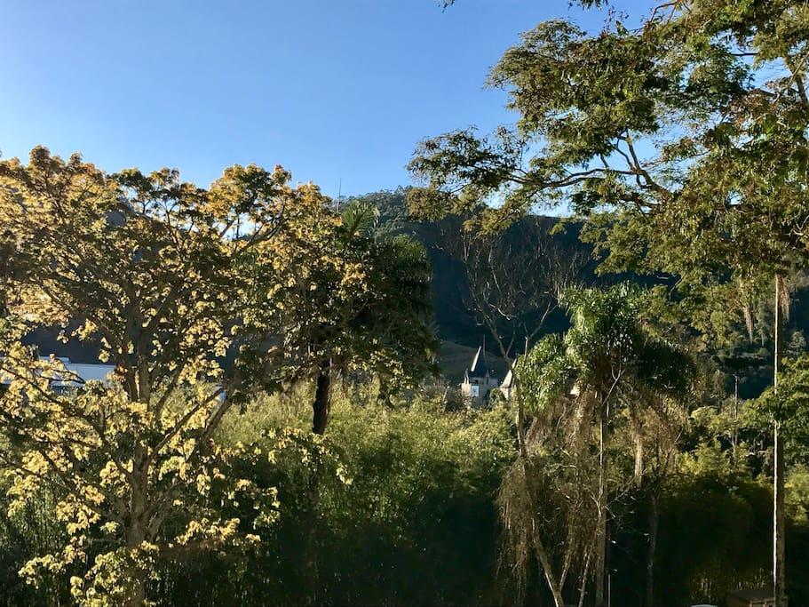 Vista do Castelo de Itaipava