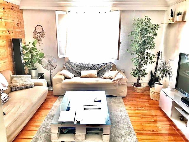 Amplio y cómodo apartamento en el centro.