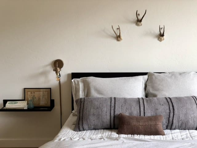Six Mile Stable has premium bedding, coverlets and duvets with Turkish textiles at every turn.