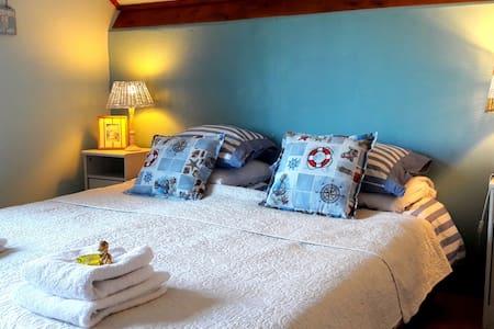 B & B De Pauw: Strand og hav værelset - Wieringerwaard