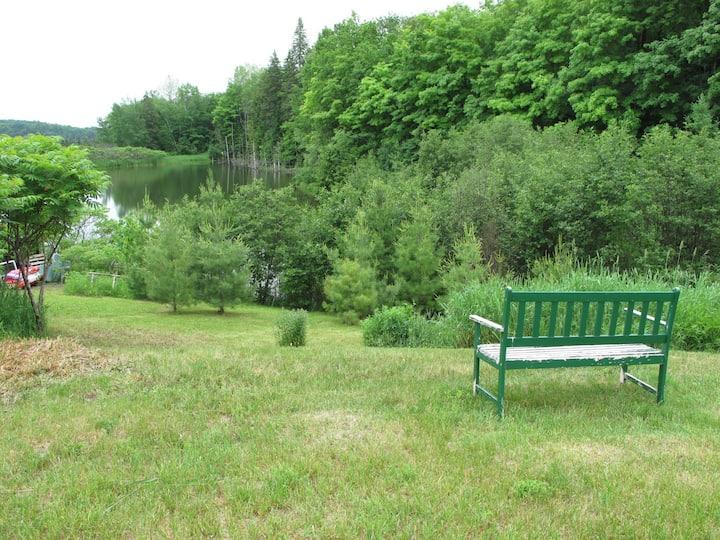 Lakefront Campsite Plus* in Gatineau Park