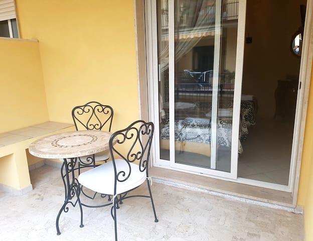 "B&B TORRE DEI SARACENI - Private room ""Balbia"" - Marina di Gioiosa Ionica - Bed & Breakfast"