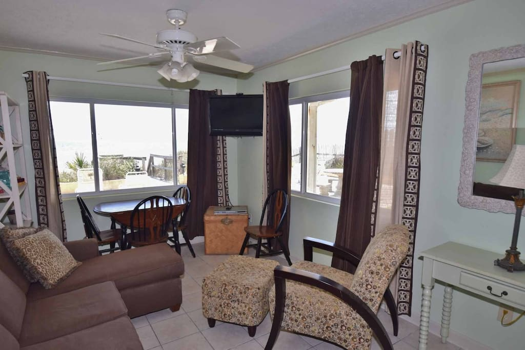 This little beach cottage is perfect for your next visit to Panama City Beach!