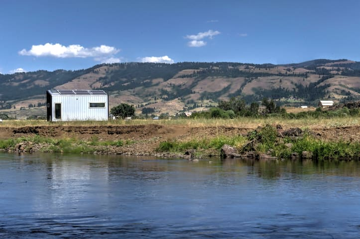 Tiny House on the Weiser River in Council, Idaho