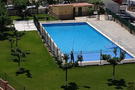 Maravilloso apartamento con piscina cerca del mar