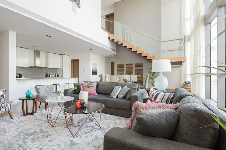 Stunning 3 BR + Maids Penthouse with high ceilings