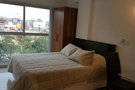 Moderno apartamento con kitchenette y baño privado - Lakás