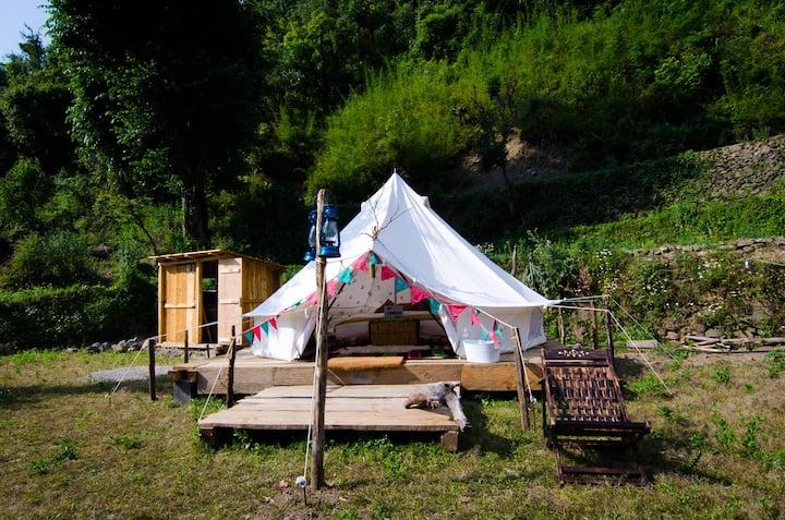 Floki @ HushNest x Chakrata : Luxury Camping