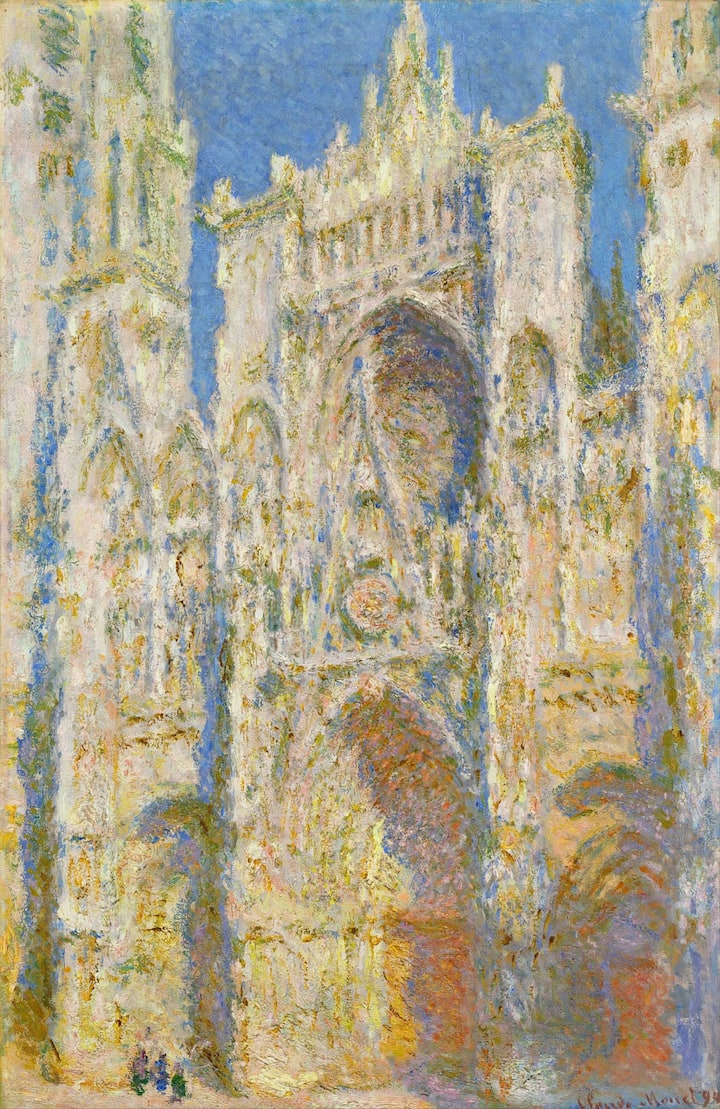 Notre-Dame of Rouen painted by  Monet