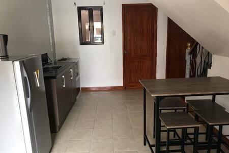 2BR + kitchen + living + parking
