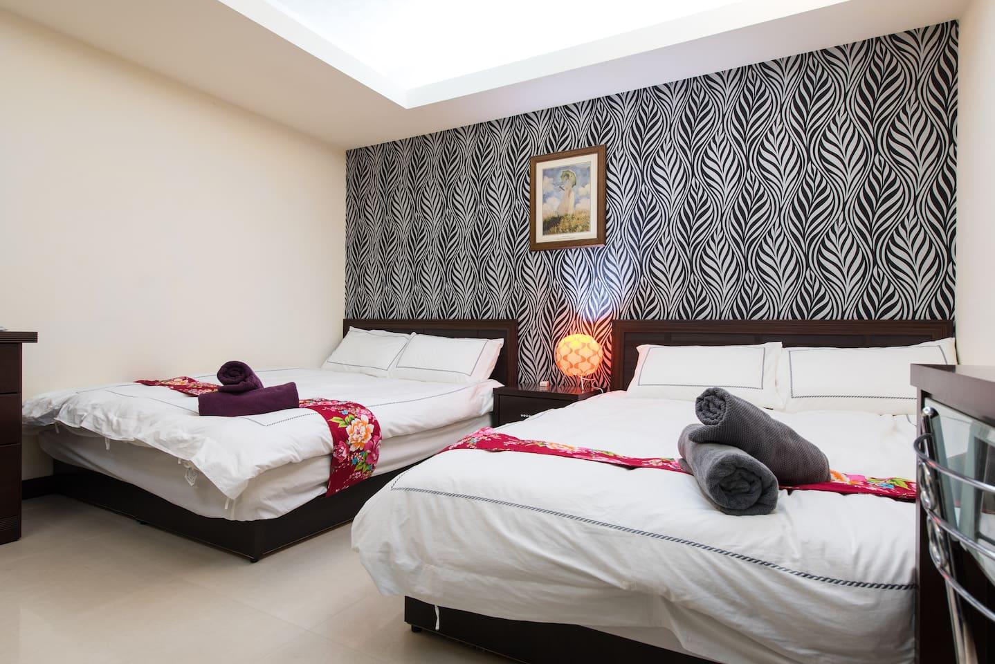 信義台北101窩標準(2-4)人C房 Cozy room(2-4) C