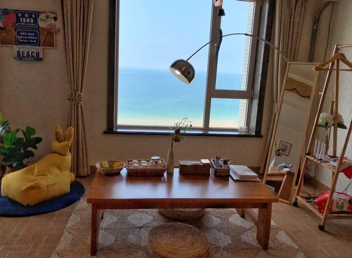 【万科丶山海】#海水浴场海景豪华公寓#豪华两室两厅# 不忘初心,等你朝夕