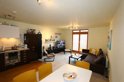CENTRAL-STYLISH 1bedr Apartment, 10' from New St.