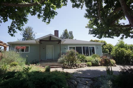 Spacious home, Close to SF, Muir Woods, & Napa - Mill Valley - Rumah