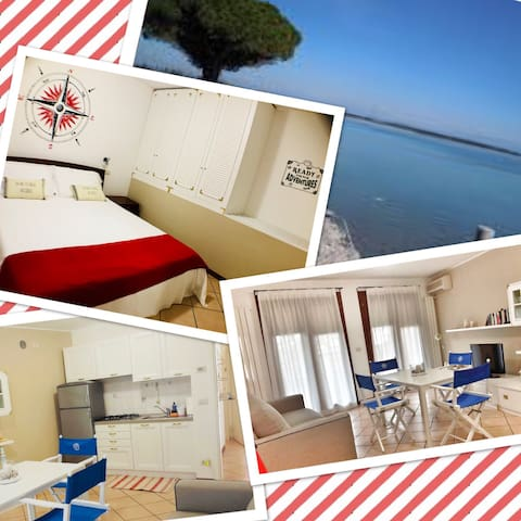 Brand new flat in the heart of Grado