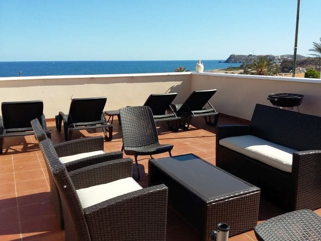Fabulous Beachside Family Apartment - Mazarrón - Apartamento