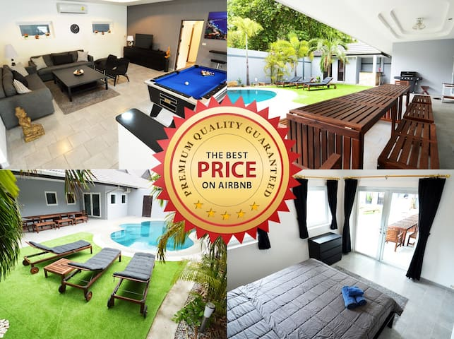 AMAZING Villa w/pool, bar, billard & much more... - Pattaya - Villa