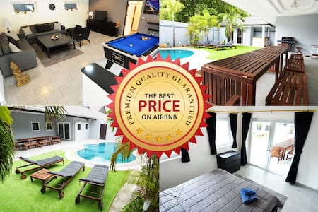AMAZING Villa w/pool, bar, billard & much more... - Pattaya