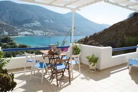 Amorgos, One Bedroom Apartment - Aegiali - Wohnung