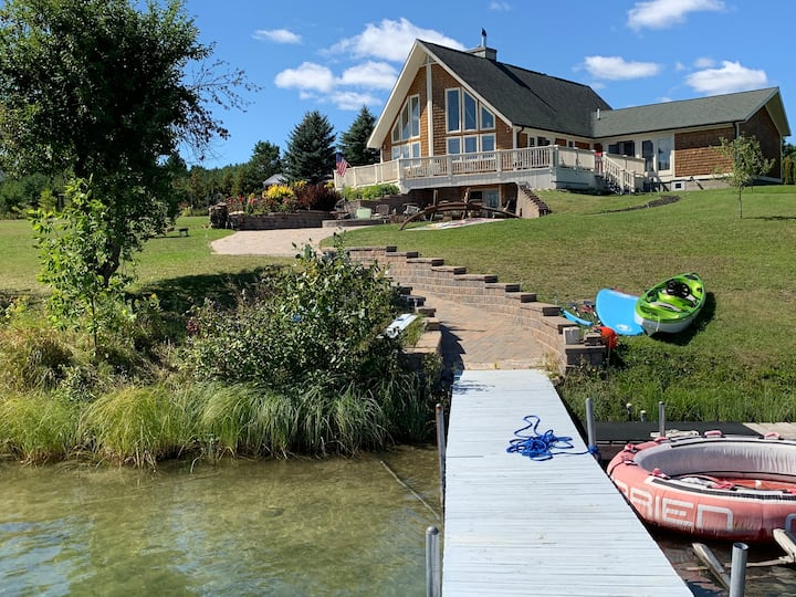 3 private acres of waterfront property!