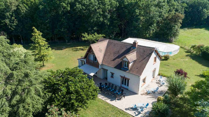 Crazy Villa in the Loiret - 2h from Paris !