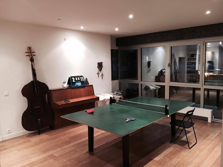 Tennis table is a great game !