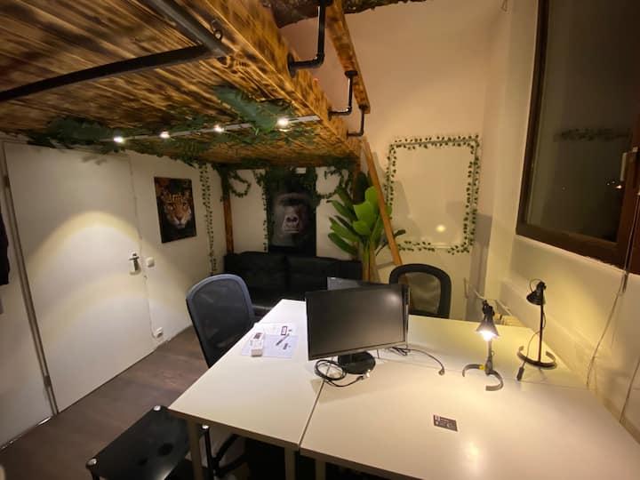 Jungle Vibes -  Room / Zimmer Frankfurt (Loft)