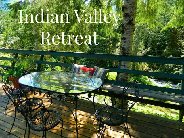 Family friendly home, Indian Valley Retreat