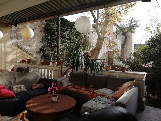 Charmante chambre au rez de jardin