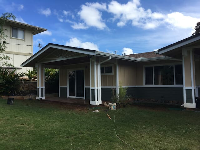 Centrally located forest house. - Wahiawa
