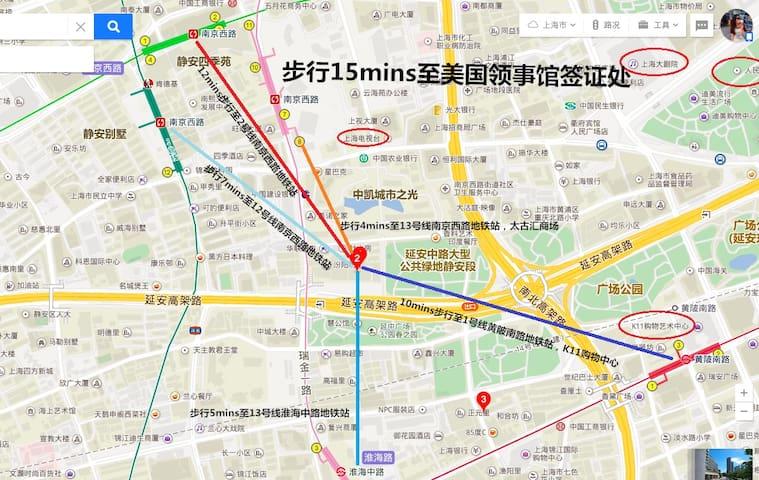 地图说明 Map Instruction