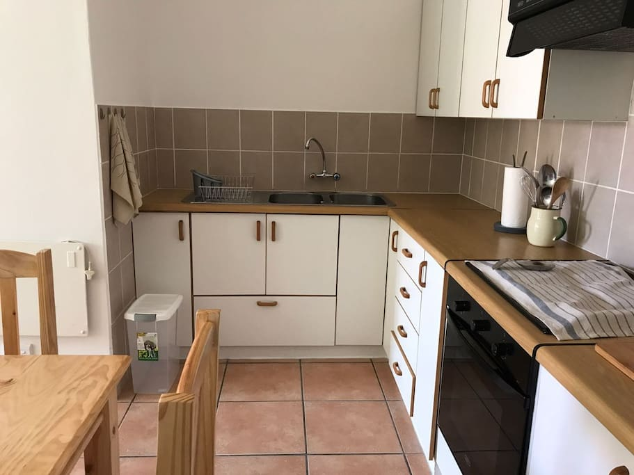 Neat and Tidy Kitchen