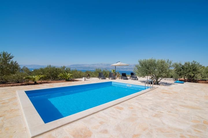 Holiday Home My Summer House - Two-Bedroom Holiday Home with Private Pool and Terrace - (ST)