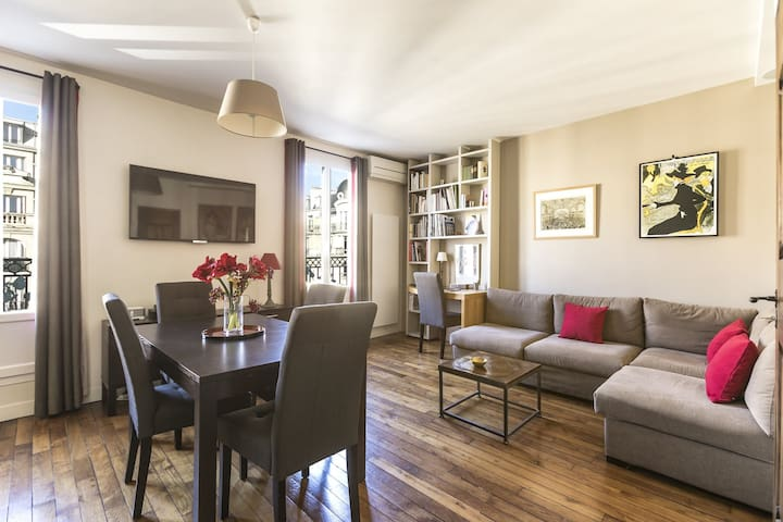 MODERN APARTMENT WITH BALCONY - CLOSE TO GARE DE  LYON TRAIN STATION