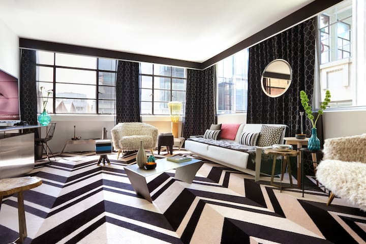 Palatial Suite in an Iconic Design Hotel