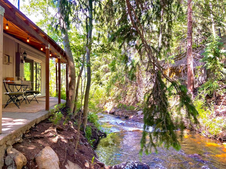 ✨Creekside Cottage✨Near Ski Resorts & Snowshoeing