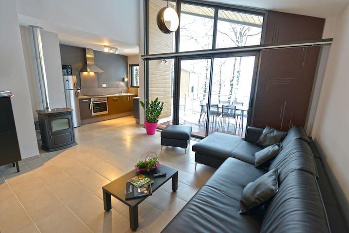 Chalet Lozère in duplex T3 70m2 - Le Massegros - House