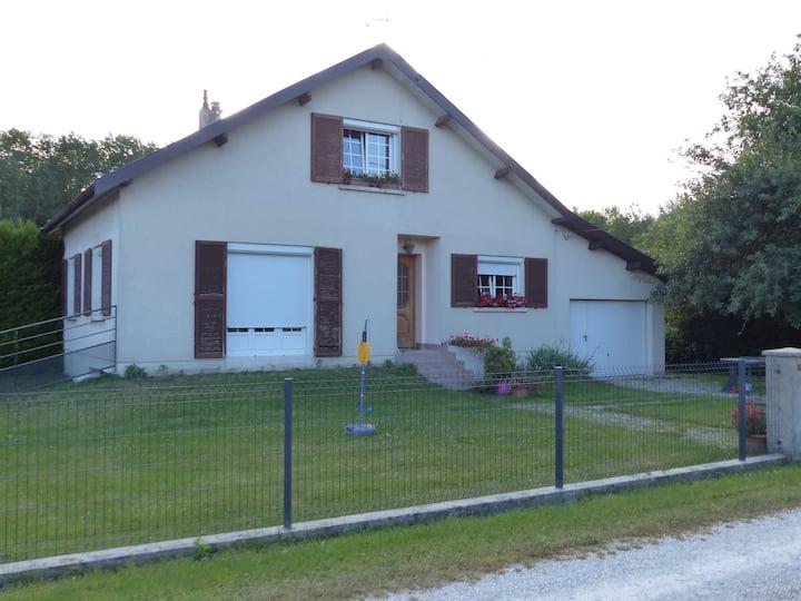 Maison à Les Rivières Henruel 15 min lac du Der