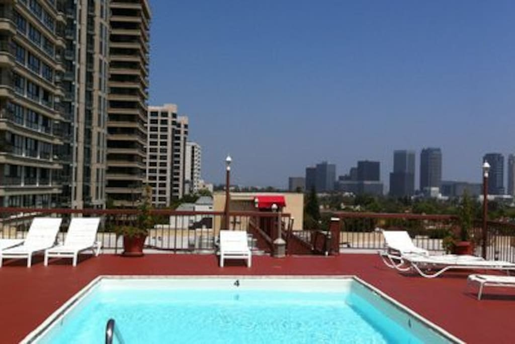 Rooftop 360° view w/Pool and Jacuzzi
