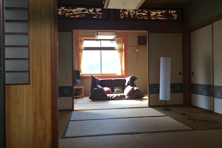 Spacious tatami room, private bath - 三方郡美浜町 - Дом
