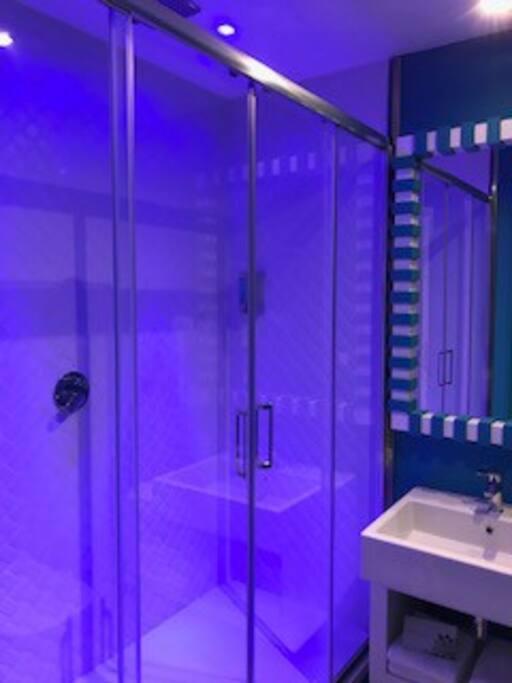 relax shower