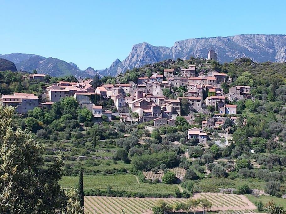 le village de Vieussan