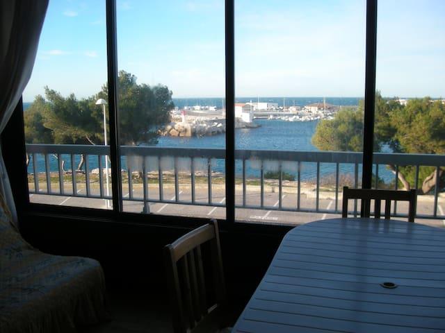 studio les pieds dans l'eau à CARRO Martigues - Martigues - Apto. en complejo residencial