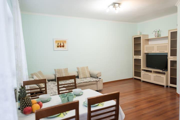 Уютный домик с двумя спальнями