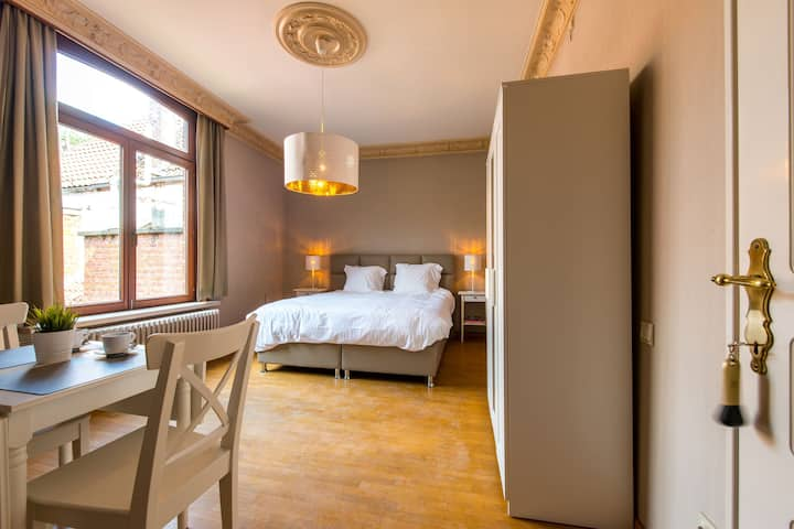 Luxurious 17th century city center Bruges mansion1