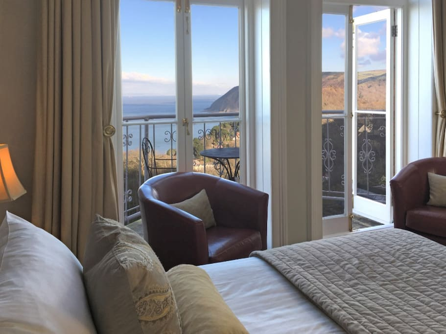 Myrtleberry's gorgeous room with stunning views