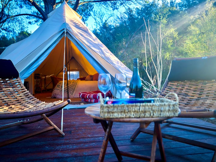 🏕The Chalet! Glamping in Style on Ovens River🏕
